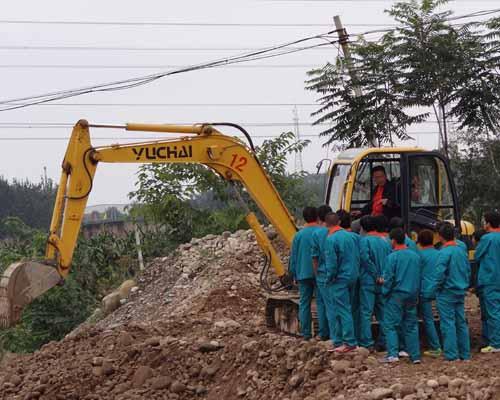 挖掘机培训事项