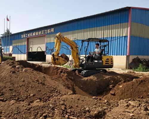 挖掘机实习培训