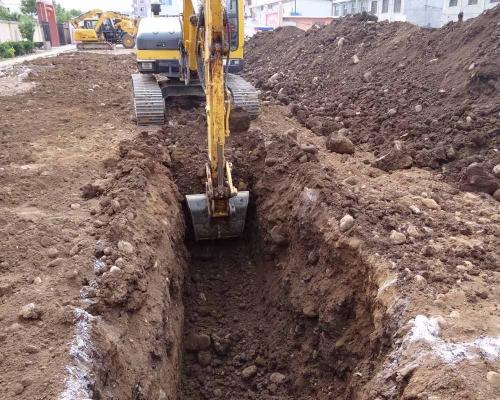 挖掘作业方法